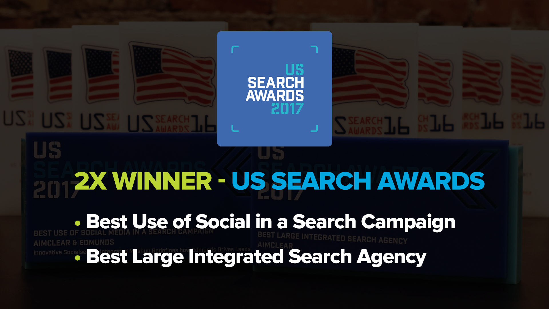 Winner of Three U.S. Search Awards