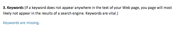 keywords-are-missing