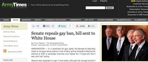 Facebook Military & Congressional Gays Who Do Ask & Tell