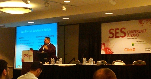 Thom Craver of Saunders College speaking on analytics - SES New York 2011