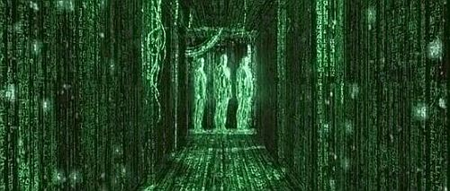 Code from The Matrix