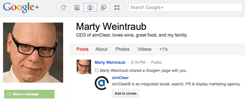 Marty Weintraub +1 Picture