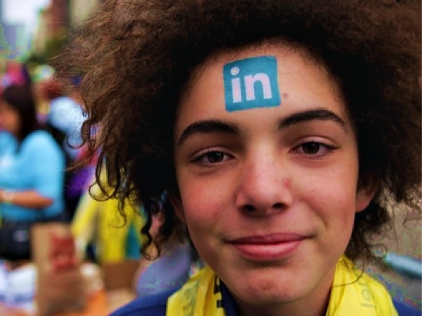 LinkedIn Face Tattoo