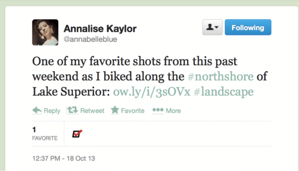 Annalise Tweet