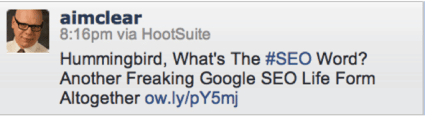 Promoted Tweet to Google Plus