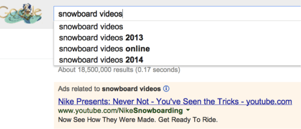Snowboard Videos Search