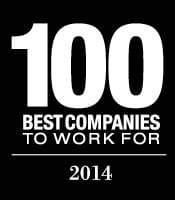 Top 100 Places to Work 2014