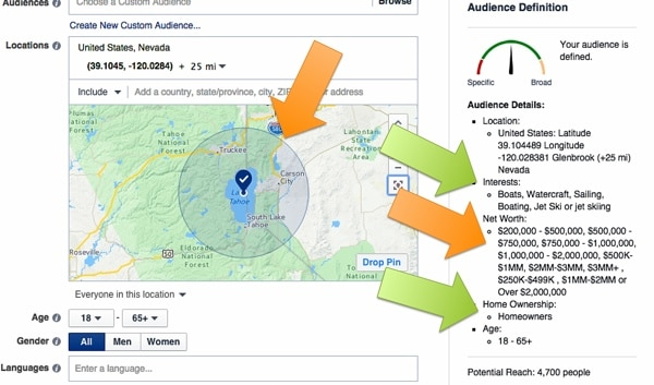 2015.07-aimClear-Facebook-Targeting-Hot-House-Geo-Pin-Lake-Tahoe-Filtered