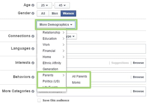 2015.07.23-aimClear-Targeting-Hot-House-Facebook-Mom-Targeting-Demographics