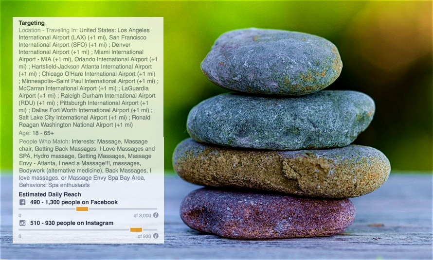 aimclear-facebook-purchase-behavior-targeting-XpresSpa-Travelers