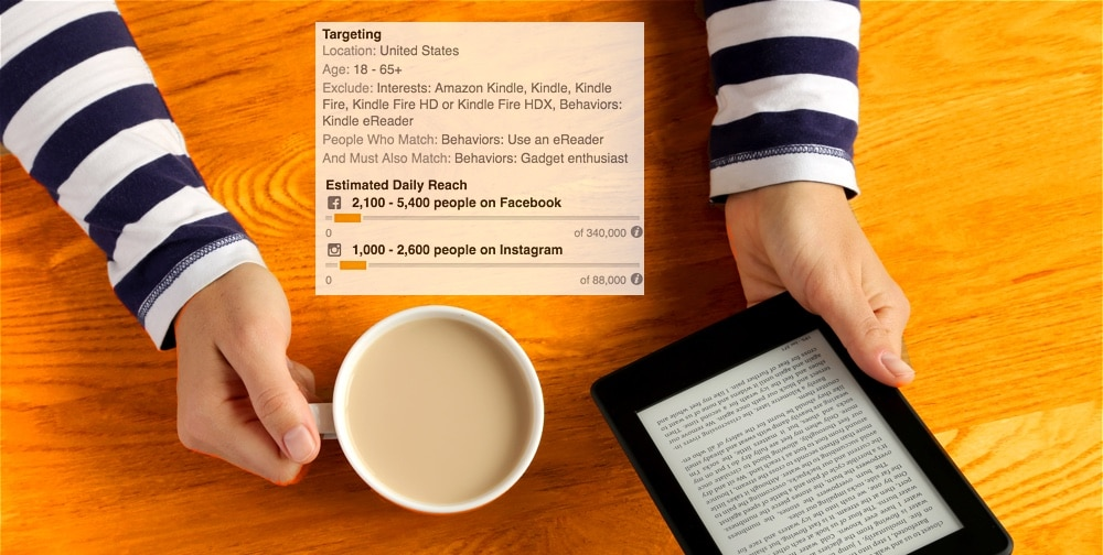 aimclear-facebook-purchase-behavior-targeting-kindle