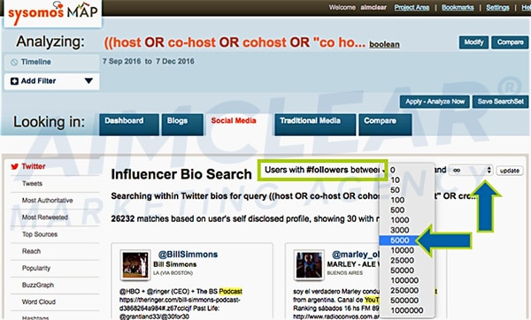 social-influencer-targeting-sysomos-map-twitter-bio-search-boolean