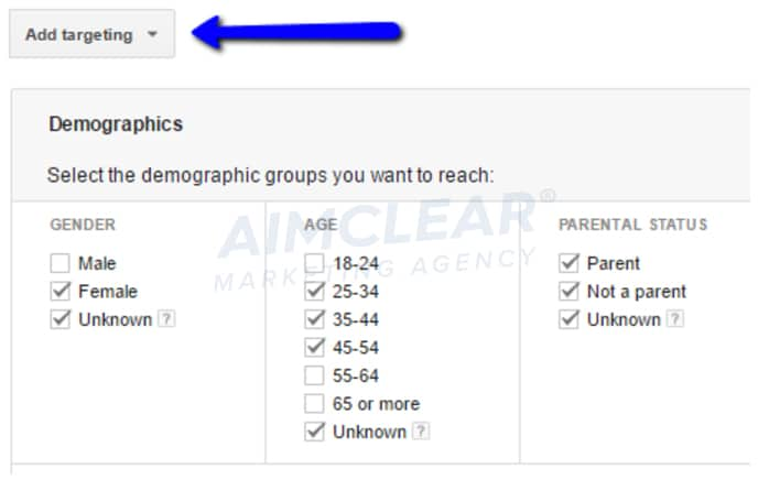 GDN-demographic-targeting