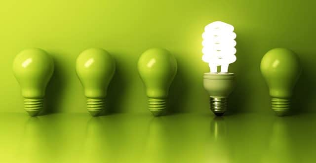 Five green light bulbs, but only one is lit for the post, #Pubcon Day 1: Data and Deep Insight Informs Smart Marketing